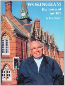 The front page of Ken's book 'The Town of my life'.