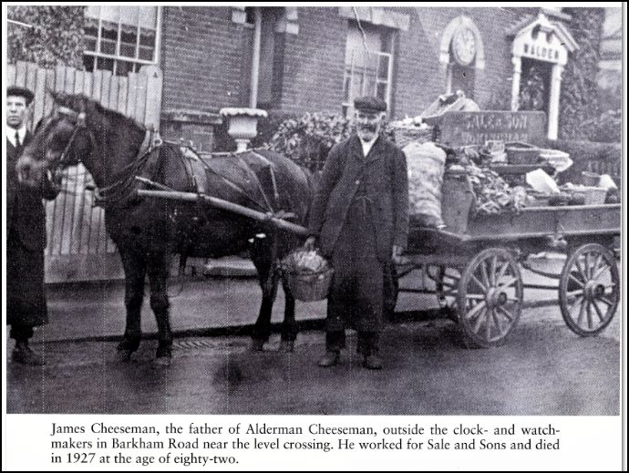 The Sale family were also Aldermen in the town