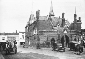 Town Hall just after the end of The Great War circa 1920