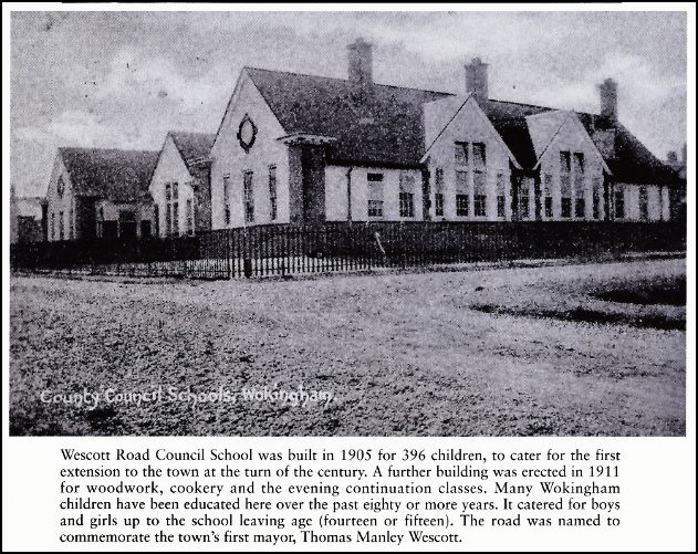 Wescott school 1905