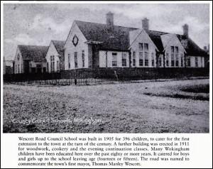 Wescott school 1905