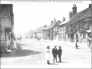 Rose Street approximately 1895. Picture: Bob Wyatt