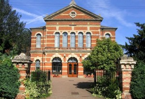 The beautiful Baptist Church, Milton Road, Wokingham.