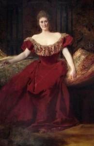 Henrietta Walter wife of Arthur Frazer Walter (Town hall portrait).