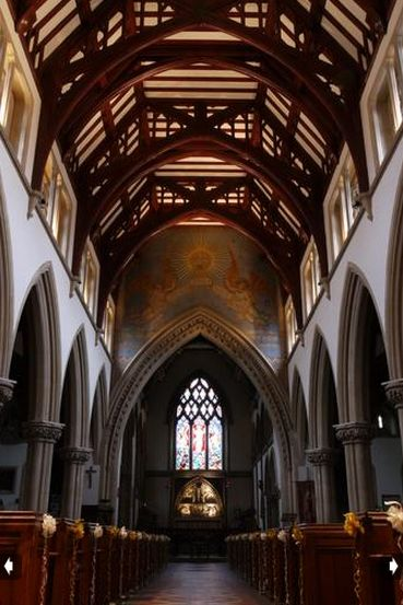 Inside St Pauls Church. Photograph by Mark Dunne