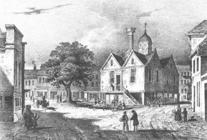"In Lord Baybrooke's speech: ""the picturesque former Town Hall"" of Wokingham."