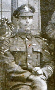 Robert's mother Sarah gradually watched four sons killed between 1915 and 1918. Robert returned injured from wounds in the shoulder and mouth.  An Old Contemptible from the Royal Berks.