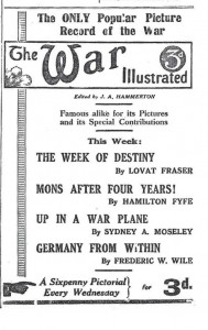 'War Illustrated' supplied a market which was rapacious in its thirst for information on the war.