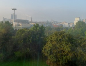 Leverkusen as seen from our hotel