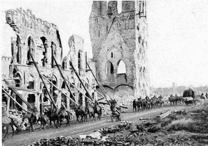 The start of 1915 is characterised by the German attack on Ypres and the Allies' dogged defence.