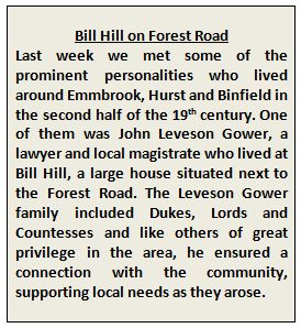 Bill Hill and Leveson Gower