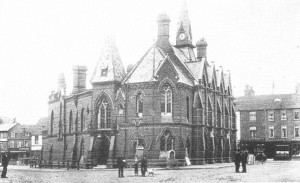 Early 20th century photograph of Wokingham Town Hall