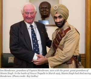 WW1 exemplifies Britain and India's common history
