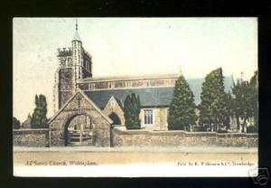 Wokingham All Saints circa 1910. Photo: Goatley Collection