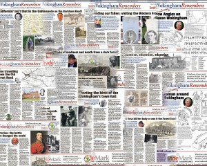 There now four months of articles written for Wokingham Remembers