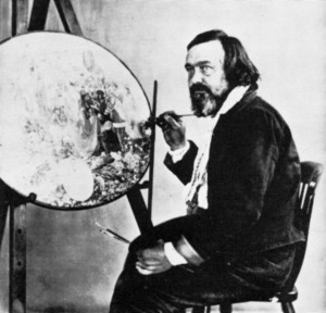 Richard Dadd was a famous 'local' artist; being a resident od Broadmoor in Crowthorne