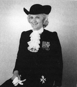 Lady Elizabeth Godsal, 1992